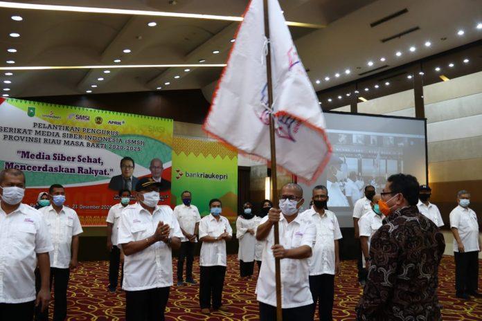 SMSI Riau Siap Bermitra dengan Pemerintah